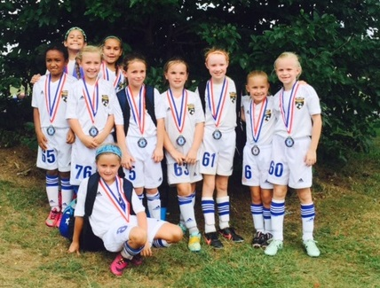 Girls U9 Black- SSA Summer Classic Finalists