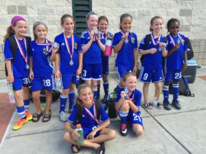 U10 girls black finalist as SSA